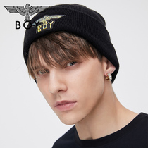 Boylondon flagship official website offset eagle LOGO seal couple personality casual hat 902902.