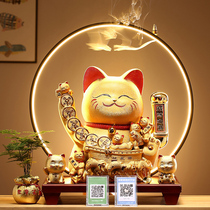Lucky cat Decoration shop opening Gift creative cashier automatic waving ceramic king-size lucky cat