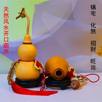 Boutique open light natural size medium opening gourd feng shui gourd pendant decoration town house evil lucky blessing