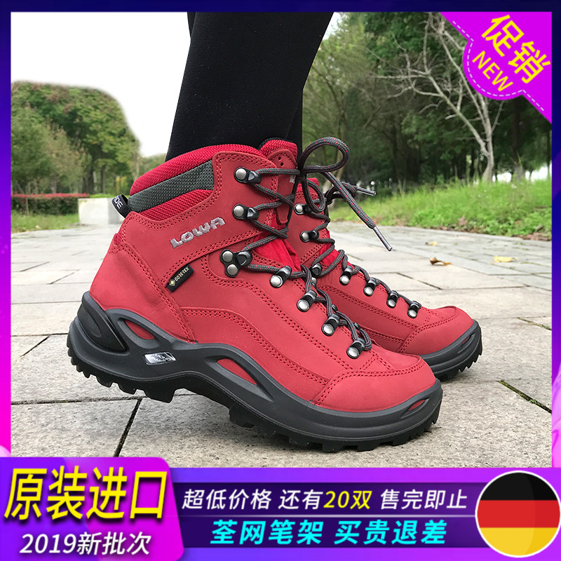 LOWA Renegade in help mens hiking shoes womens outdoor GTX waterproof non-slip breathable hiking shoes travel shoes