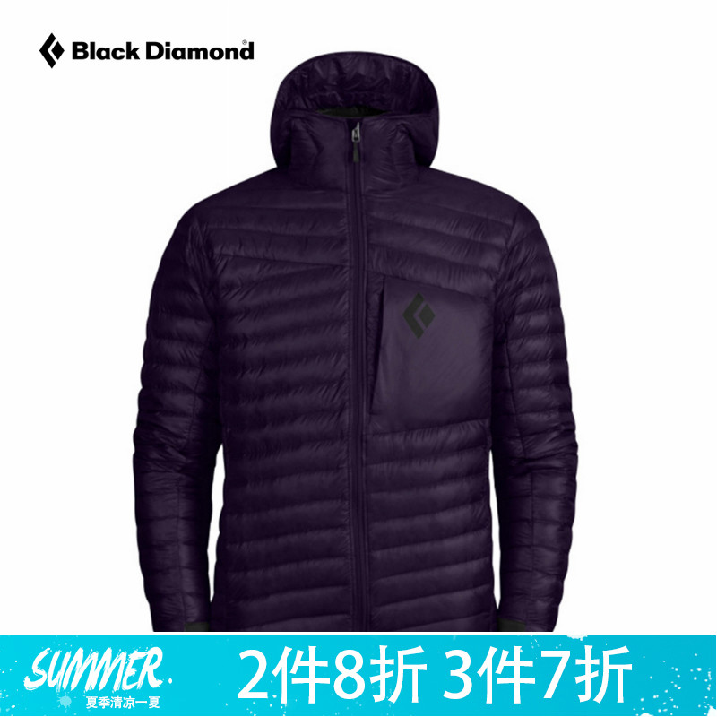 BD Black Diamond M's Hot Forge Hoody Men's Hot Cast Hooded Down Jacket WR30