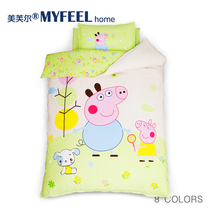 Kindergarten quilt three piece cotton baby bedding cotton bedding cotton children bedding core suite nap quilt