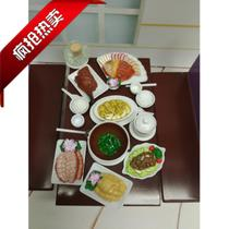 Tfrocandy Cantonese Tea Restaurant Hong Kong-style burning food model simulation played home toy gift Sale