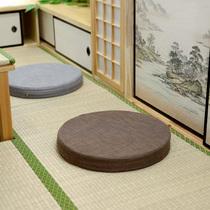Linen cotton fabric futon cushion round cushion can disassembly and washing tatami fluttering window cushions Buddha mat