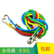 Bundled Rope motorcycle luggage strapping strap hook elastic rope electric car trunk strap widening thickening