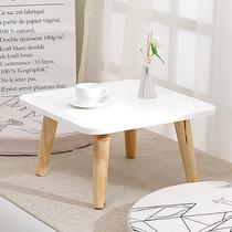 Nordique ins baie vitrée table tatami petite table basse simple rebord de la fenêtre table de plancher de style japonais baie vitrée petite table