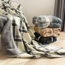 Multi-function warm blanket moisture absorption and heating blankets can be covered with blanket home hair velvet blanket can do shawl ab face