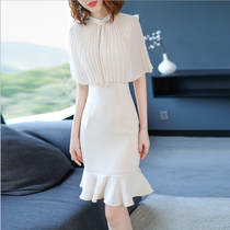 2018 summer new dress ladies dignified dignified dignified host Dinner Party Evening Gown long k254