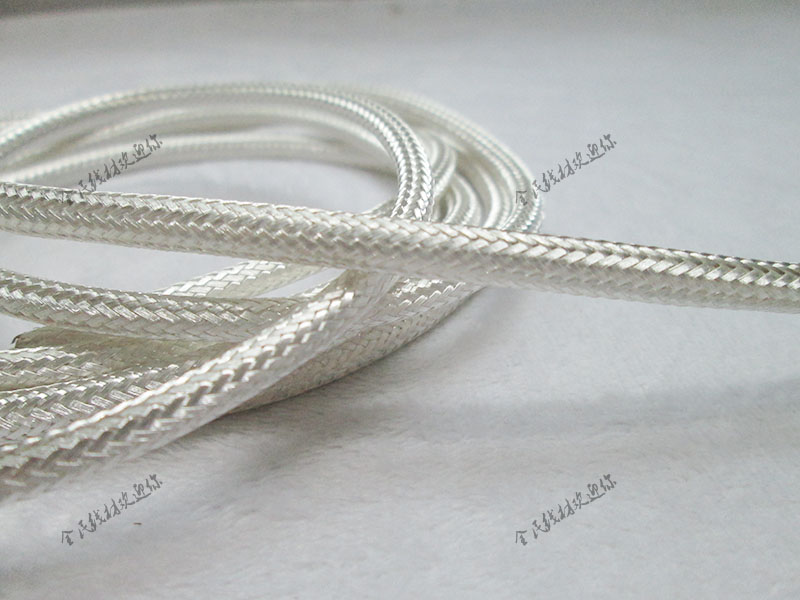High-quality imported high-density silver-plated shielded net signal cable net sleeve set line by 2-35MM Yin silver shock network