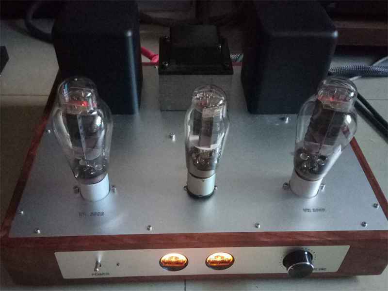 Cow push 300B single-ended tube amplifier DIY