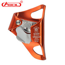 ASOL Handless Riser Grab Rope Climbing Device Outdoor Rock Climbing Cave Exploration Equipment Climbing Tool Grab