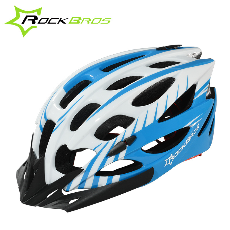 ROCKBROS bicycle helmet mountain bike riding helmet equipped with one-piece helmets for men and women