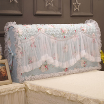 Good dream in the Korean version of the fabric lace princess bedside cover bedside sleeve dust protection leather bed idyllic 1.8m cotton