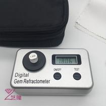 New gem digital refractometer Jewelry testing instrument Jade jade refractive index test without oil