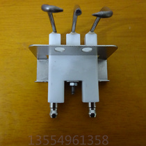Gas infrared burner gas stove ignition needle) three-column ceramic ignition needle gas oven ignition needle