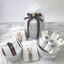 High-end cotton newborn babies in the autumn full moon baby clothes