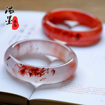 Thick ink south red Agate bracelet Ice drift South red Agate bracelet Red Agate bracelet The year of life Red Agate