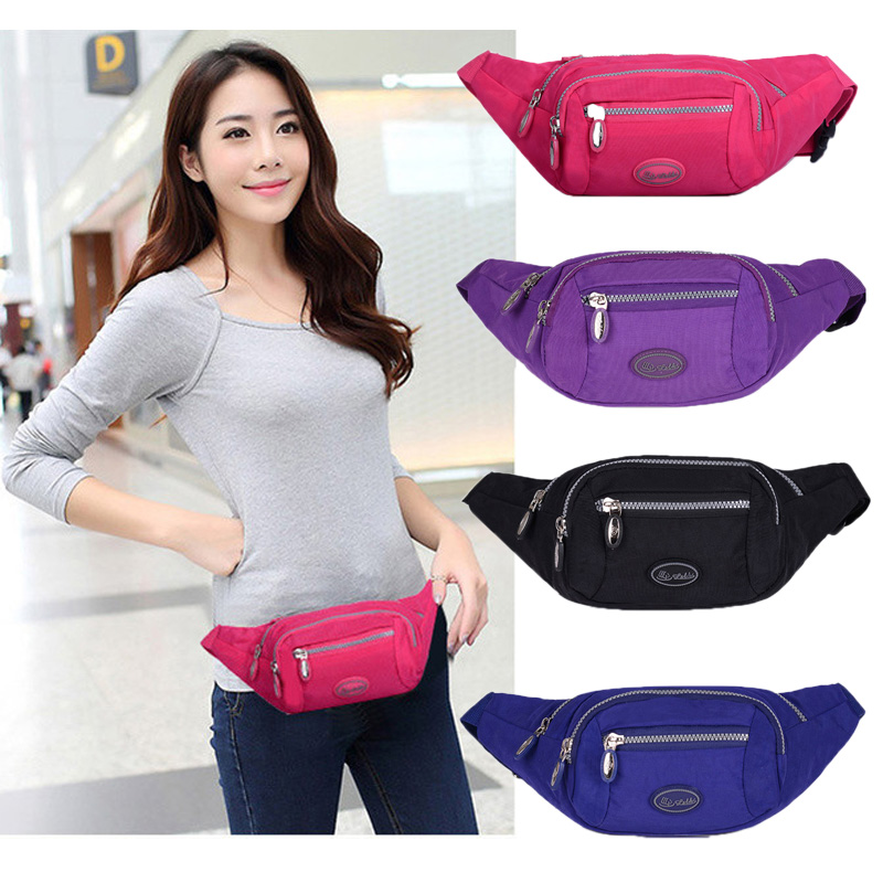 Waterproof sports pocket female 2017 new tide multifunctional cash register bag running personality fashion pockets ladies Korean version