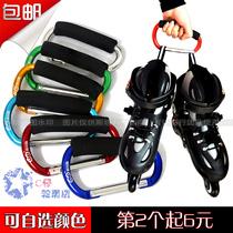 C Tsai Skate shop metal roller shoes buckle skates roller skating hook fast hanging hand shoe button aluminum alloy
