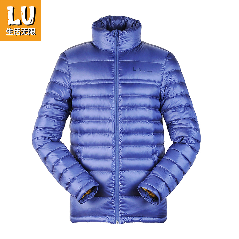 LU Living Infinite Autumn and Winter Down Garment Men's Outdoor Sports and Leisure Short Wind-proof Warm Coat