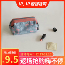 ins net red cosmetic bag female portable portable with the same paragraph cosmetic bag small simple girl Cosmetic Storage Bag