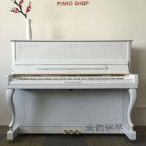 Korean Original second-hand piano u121 vertical adult Practice test grade playing real piano warranty students with piano