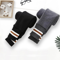 Girls leggings spring and autumn wear plus velvet thickened childrens pants autumn and winter foreign gas in the Big childrens thin baby spring dress