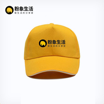 Powder elephant life push equipment - hat yellow - D model.