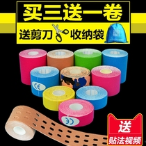 Professional intramuscular adhesive tape Elastic motion Bandage muscle internal effect sticker Muscle sticker tape muscle strain