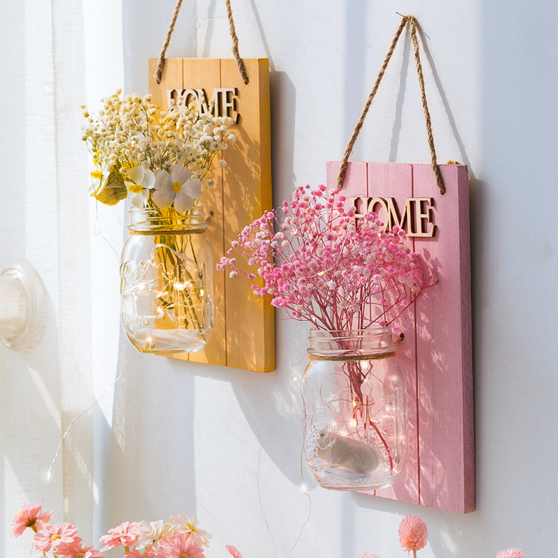 Ins Windy Starry Dry Flower Wall Wall Decoration Wall Wall Wall Wall Wall Indoor Living Room Room