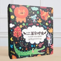 Baby Growth Memorial Diy Photo Album Child and Neonate Birth Record Maternal Pregnancy Diary