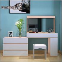 Modern minimalist fashion dresser retractable makeup table bedroom Nordic small household multifunctional bulk customization