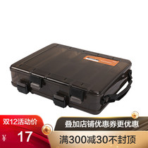 Fishing House D28 Medium Portable Road sub-bait box fake bait box Bait box Road sub-box fishing gear box