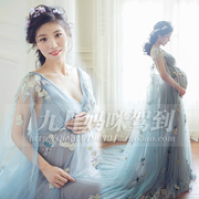 136 pregnant women portrait clothing rental photo studio photo of pregnant women to take pictures of the dress skirt