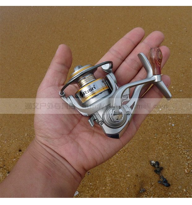 Palm Zhongbao V200 DF Mini Spinning Wheel Fishing Wheel Metal Line Cup Ice Fishing Wheel Rock Rod Raft Wheel 9