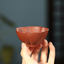 Yixing purple sand personal master tasting cup single cup purple sand cup tea bowl cup small mouth kung fu tea cup