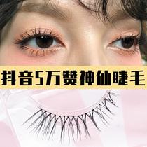 False eyelashes female natural thick simulation of supernatural eyelashes Japanese material snow Chennai 3W Chan fairy eyelashes ab2