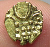 Small gold coins of the Han Dynastys gui cream dynasty