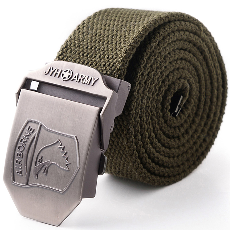 Outdoor Field Canvas Belt for Male Outdoor Special Forces Tactical Belt