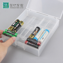 Japan Imports Kokubo battery storage box multiple battery finishing box protection battery to prevent short circuit effect