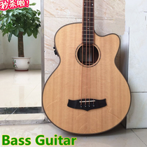 Gypsy Acoustic bass Single Board wooden bass four or five string acoustic electric box Mubes electric bass No product