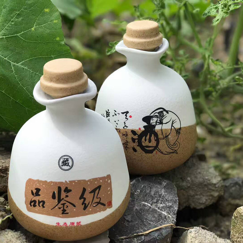 Many Kinds of 1 Kind of Jingdezhen Ceramic Wine Bottles Empty Bottles Household Creative Wine Bottles Sealed Wine Wares Decorative Arrangements