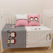 纯棉 婴儿儿童帆布粗布凉席透气吸汗凉席凉枕全棉 可定制