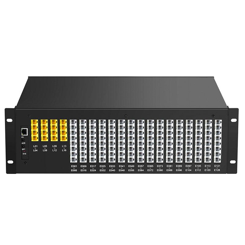 Guowei WS848-5F commutateur téléphonique contrôlé par le programme 4 8 12 16 au 88 96 104 112 120 128