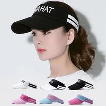 Hat female Korean version of summer cycling outdoor sports empty top baseball cap mens sun hat sunshade empty top hat