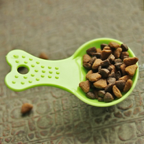 Mini cute food spoon) cat food dog food spoon metering spoon safety sanitary lightweight durable pet supplies six cats
