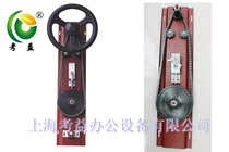 File dense cabinet transmission mechanism brake device mobile cabinet shelf transmission machinery five gold