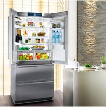 Liebherr French refrigerator Austria original import CBNes6256 open small family rental