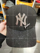 95f01ef7dc1 MLB baseball hat counter on behalf of 18 spring Models NY Yankee diamond  curved hat sequins