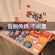 Ребенок поймал еженедельный год рождения жеребьевка расположение реквизит набор современные мужчины и женщины дети подарок на день рождения игрушки